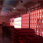 Panou video cu Led-uri 38 mp p8 mm pentru interior