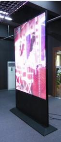P10 transparent windoor display