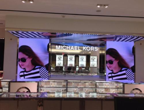 Ecrane video cu led pentru mall-uri, magazine de lux…