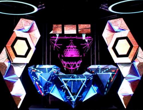 Pupitru led pentru DJ