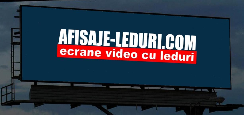 ecrane video cu led, outdoor, de mari dimensiuni, panouri video pentru exterior