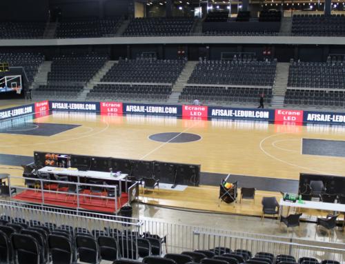 Panouri led pentru arene sportive indoor